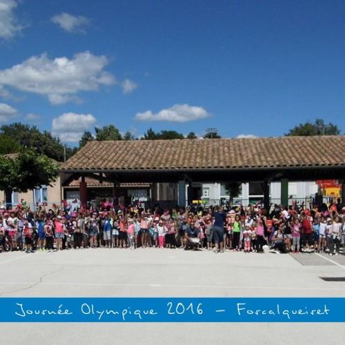 Album : Journée Olympique 2016 – Forcalqueiret