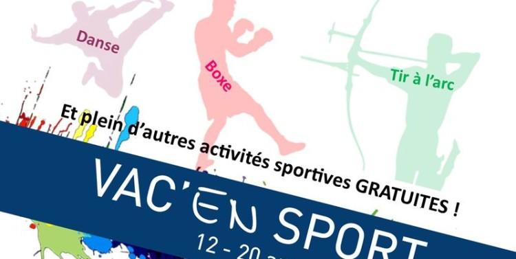 Vac'en Sport 2016, demandez le programme
