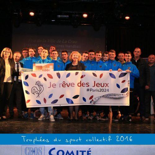 Album : Trophées du sport collectif 2016