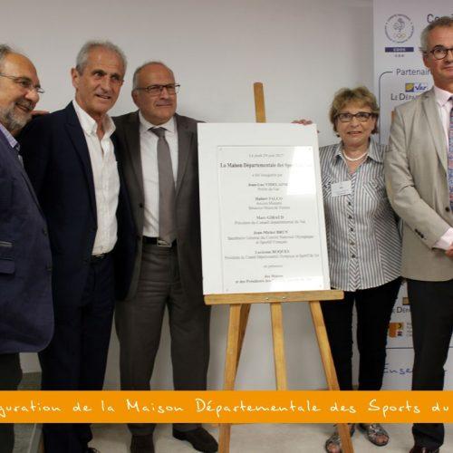 Album : inauguration de la nouvelle Maison Départementale des Sports (29/06/2017)