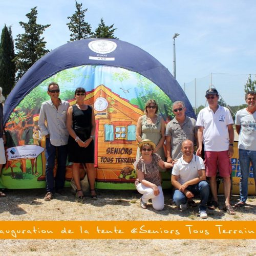 "Album : inauguration de la tente ""Seniors Tous Terrains"" (21/06/17)"