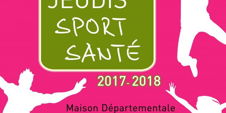 Jeudis Sport Santé 2017-2018 : demandez le programme