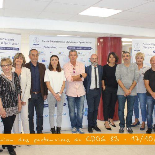Album : réunion des partenaires du CDOS 83